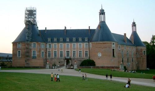 Visuel Chateau de Saint Fargeau - VIVA vacances